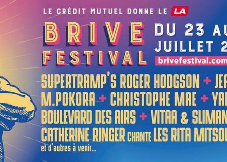 Boulevard des Airs, M.Pokora et Jean-Louis Aubert au Brive Festival à Brive la Gaillarde