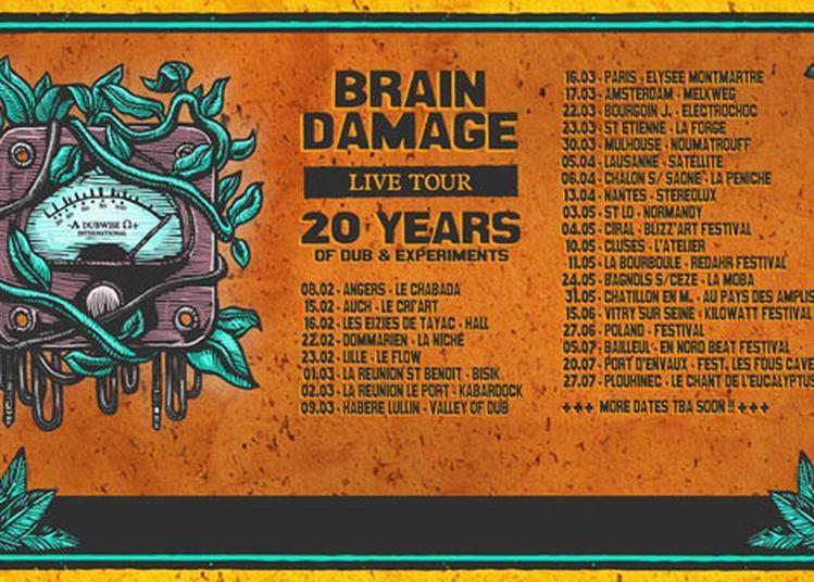 Brain Damage + Bisou à Bagnols sur Ceze