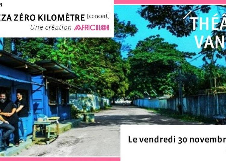 Brazza Zéro Kilomètre ? Création Africolor 2018 à Vanves