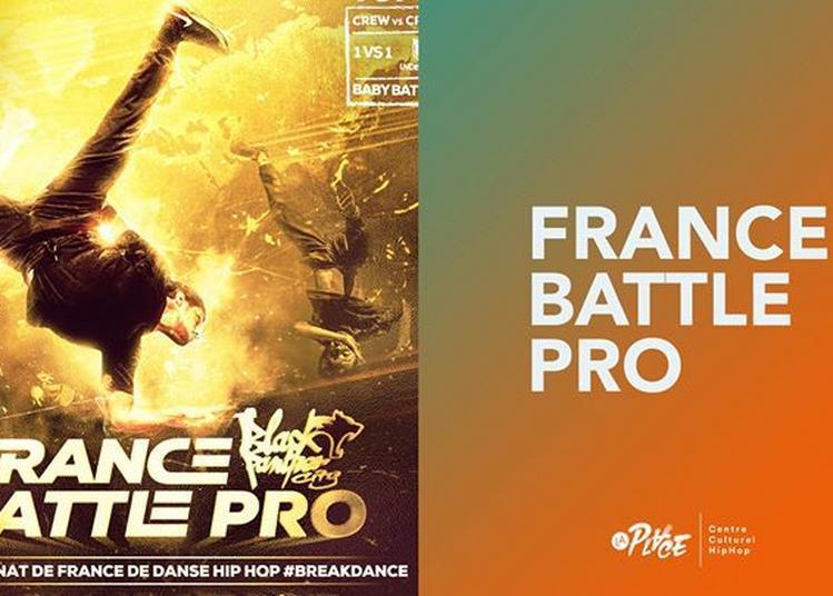 Breakdance - France Battle Pro - La Place à Paris 1er