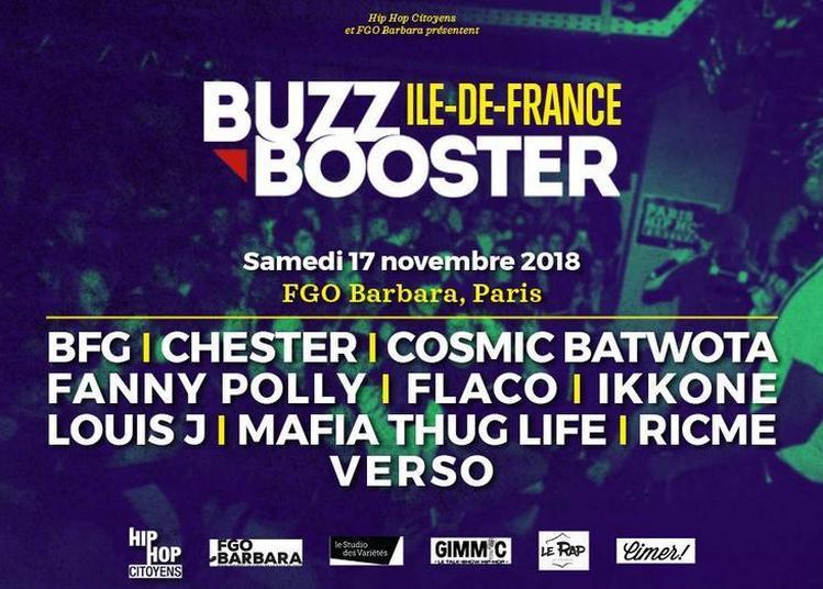 Buzz Booster Idf 1/2 Finale à Paris 18ème
