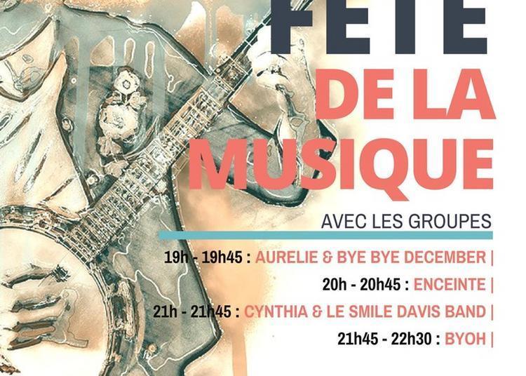 Bye Bye December / Enceinte / Cynthia Et Le Smile Davis Band / Byoh à Ballancourt sur Essonne