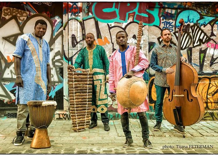 Cafe-concert : Soriba Sakho & L'esprit Mandingue à Paris 20ème
