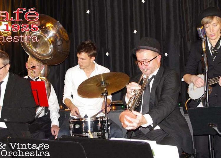 Café 1925 Jazz avec instruments d'époque à Grenoble