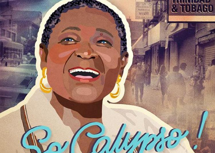 Calypso Rose à Paris 18ème