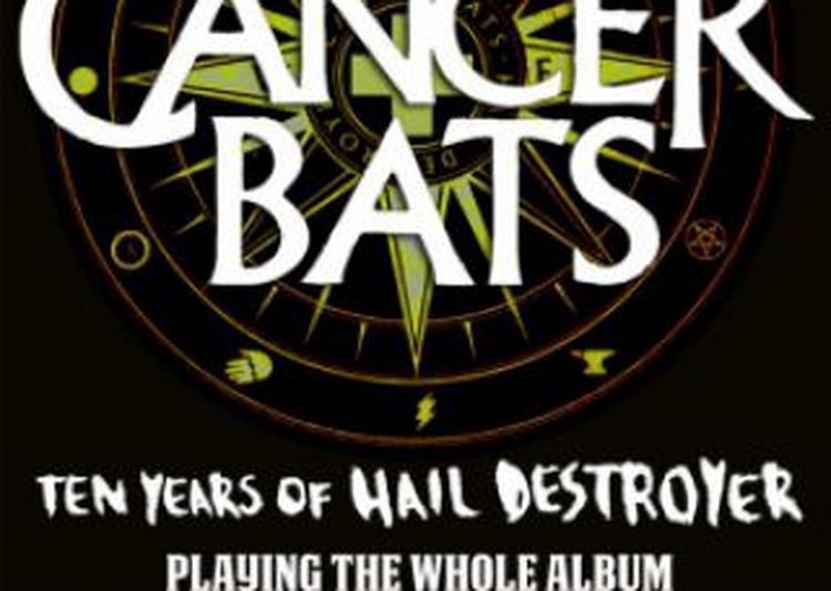 Cancer Bats + Guest à Paris 11ème