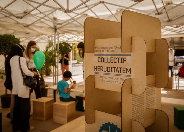 Capsules Archinomade «quelle Architecture Suis-je ?»  Et «architecture Textile» à Metz