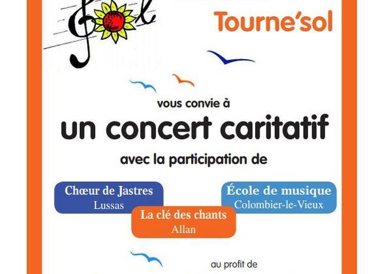 Concert choral au profit de Jonathan Pierres Volantes à Donzere