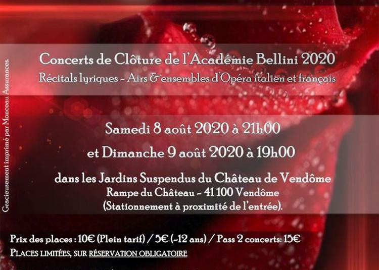 Vincenzo Bellini Belcanto Académie - Concerts de Clôture à Vendome