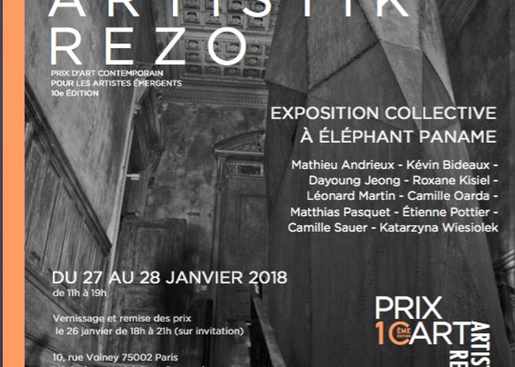 Prix Icart Artistik Rezo 2018 à Paris 2ème