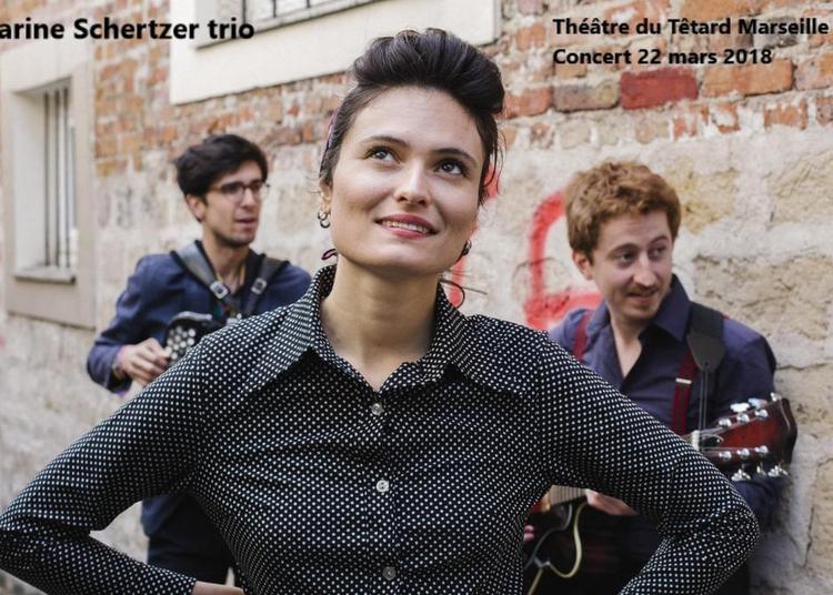 Carine Schertzer Trio à Marseille
