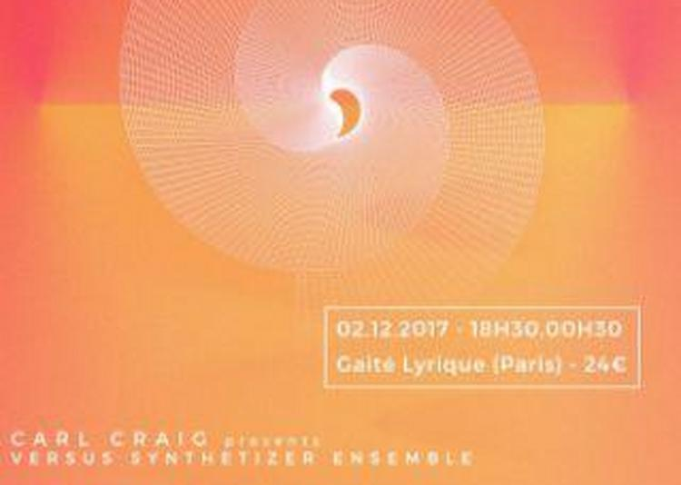 Carl Craig, Bambounou, Chloe, Fabrizio Rat à Paris 3ème