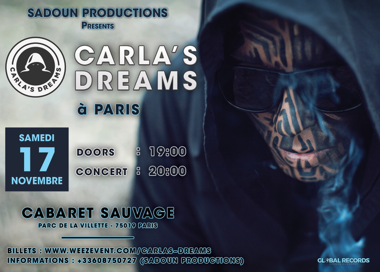 Carla'S Dreams à Paris 19ème