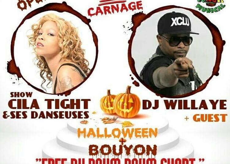 100% Carnage | Show Cila Tight | Dj Willaye | Guest à Montpellier