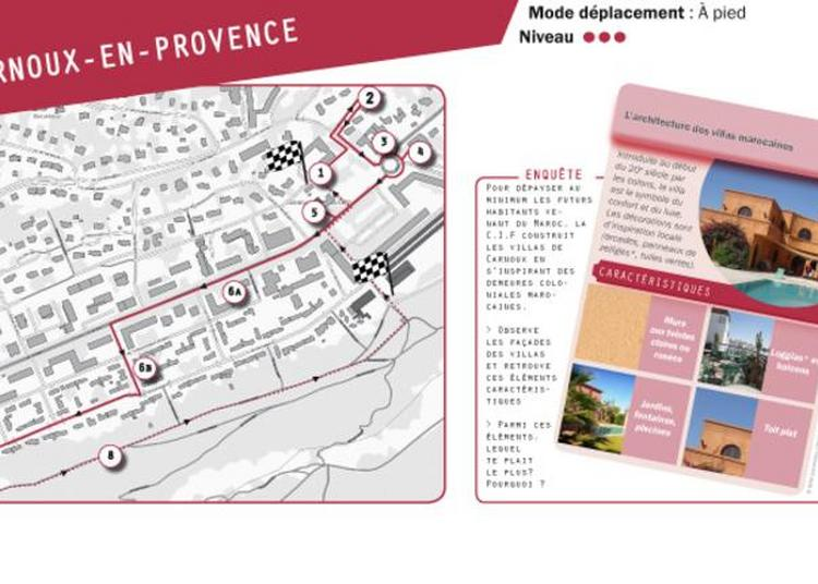 Carnet De Balade Urbaine Carnoux-en-provence à Carnoux en Provence