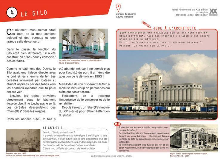 Carnet De Balade Urbaine Le Patrimoine Industriel De La Joliette à Marseille