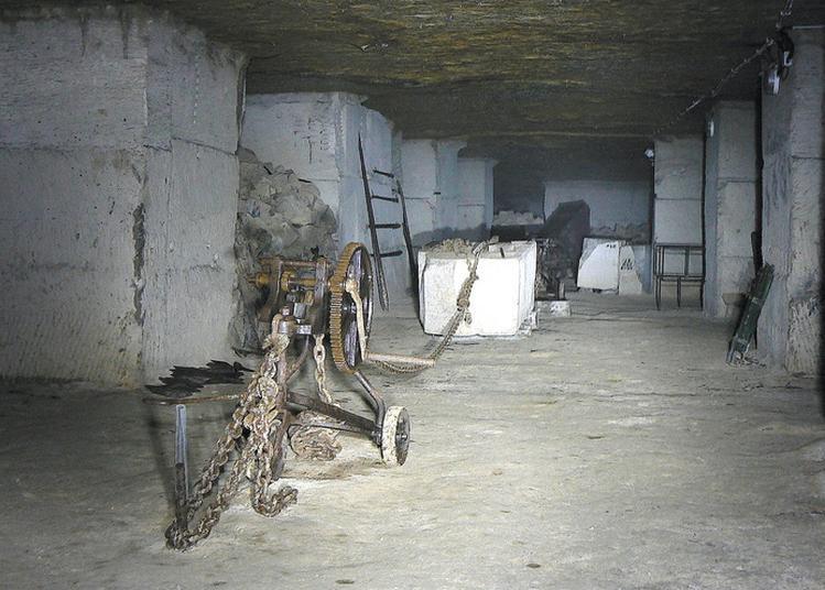 Carrière Souterraine De Rinval à Brauvilliers