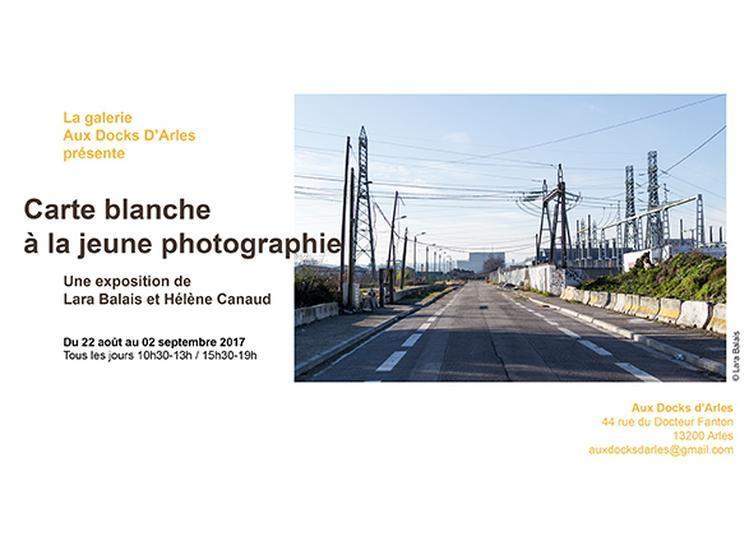 Carte blanche à la jeune photographie / Aux Docks d'Arles