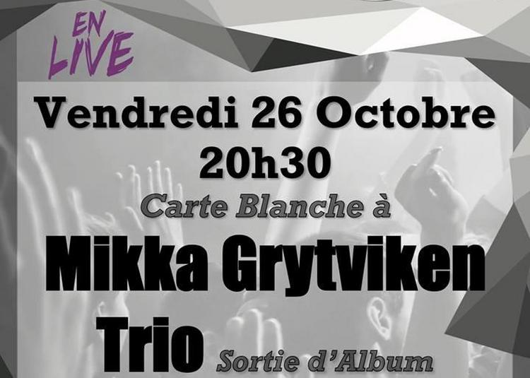 Carte Blanche à Mikka Grtyviken Trio à Tours