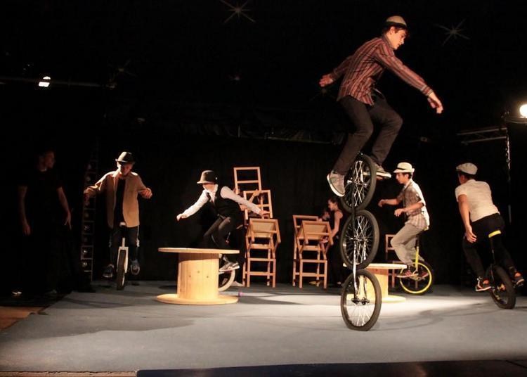 Carte blanche à Or piste et aux écoles de cirque régionales à Dijon