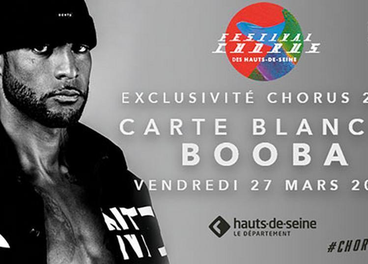 Carte Blanche Booba Au Festival Chorus à Boulogne Billancourt