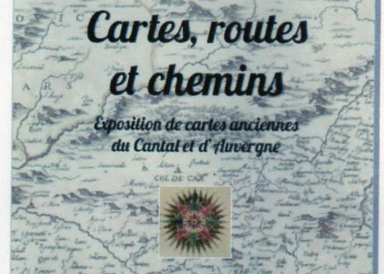 Cartes, Routes Et Chemins à Pleaux