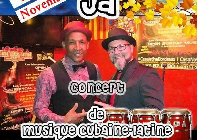 Iban El Sonero De Cuba Y Ja - Concert Cubain à Bordeaux