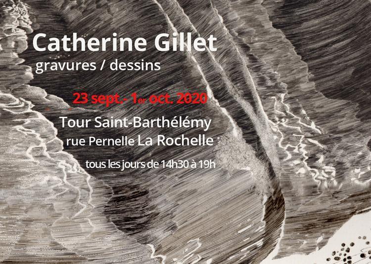 Catherine Gillet gravures/dessins à La Rochelle