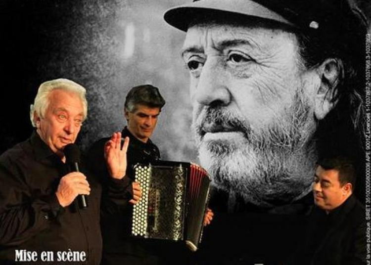 Caussimon, spectacle musical à Saint Gervais sur Roubion