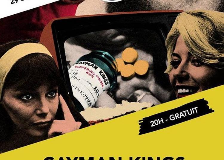 Cayman Kings - Café Bizarre - Djakarta à Paris 12ème