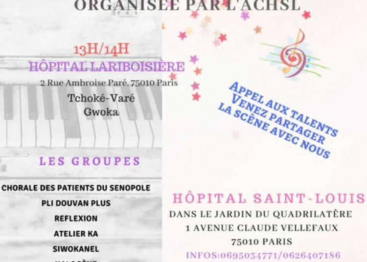 Célébrer La Musique En Milieu Hospitalier à Paris 10ème