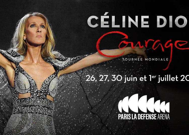 Céline Dion Courage World Tour à Nanterre