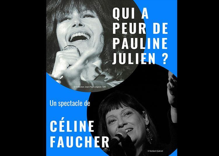 Céline Faucher Au Flf à Ivry sur Seine