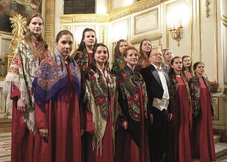 Choeur Féminin Rimsky-Korsakov de Saint-Pétersbourg à Aubazines