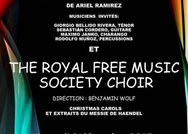 Ch?urs latino-américains et britanniques- Chants de Noël à Paris 13ème