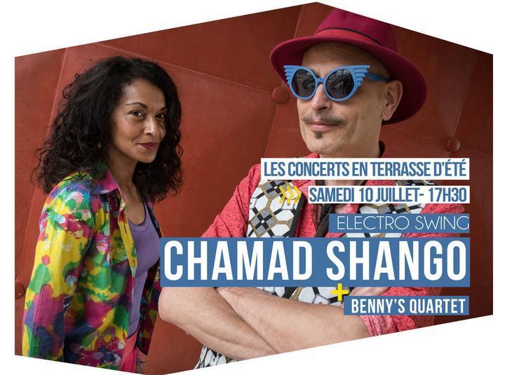 Chamad Shango Et Benny's Quartet à Tremblay en France