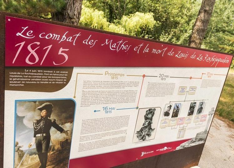 Champ De Bataille Des Mathes à Saint Hilaire de Riez