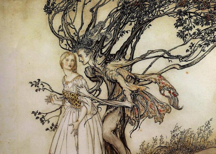Chants de fée, voix de forêt à Concoret
