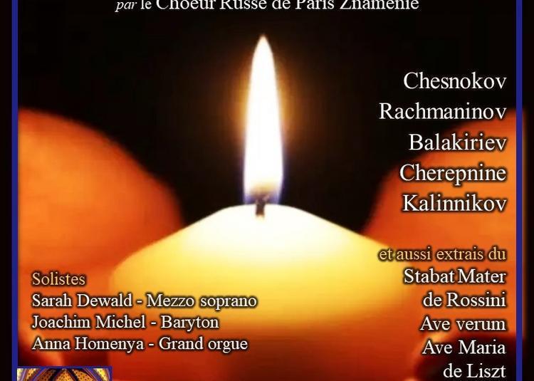 Chants Russes par le Choeur Russe de Paris à Paris 9ème