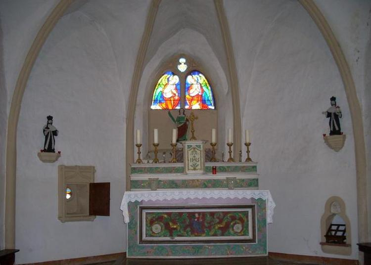 Chapelle Sainte-barbe Boler à Breistroff la Grande