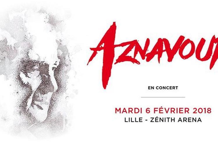 Charles Aznavour à Lille