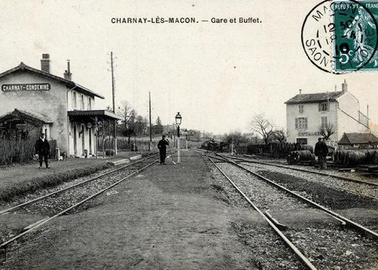 Charnay-condemine : L'histoire D'une Gare à Charnay les Macon