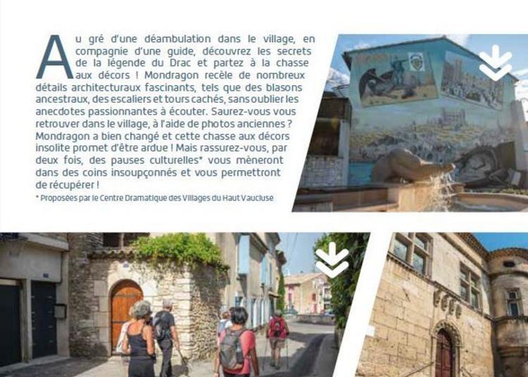 Chasse Aux Décors Et Légende Du Drac ! à Mondragon