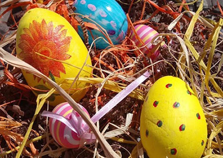 Chasse aux oeufs de Pâques ! à Abondance