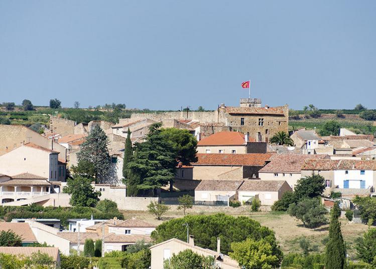 Château Médièval à Puisserguier