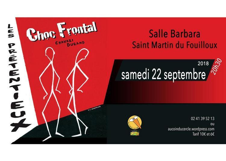 Choc frontal : les prétentieux à Saint Martin du Fouilloux