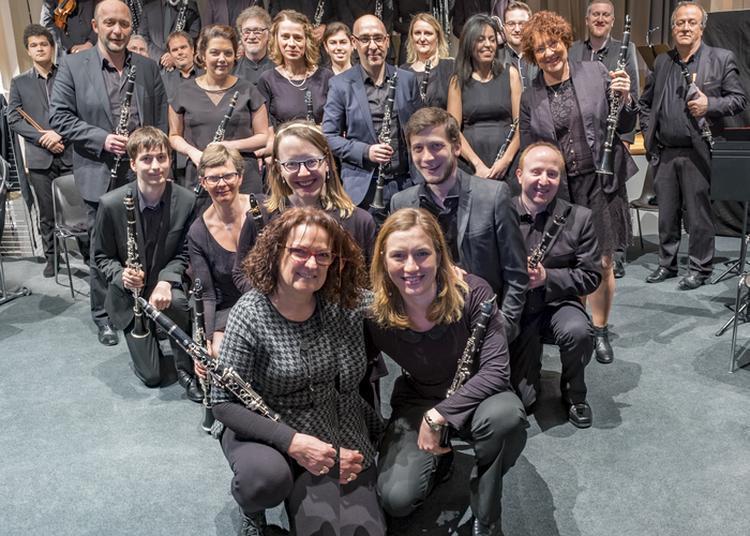 Choeur De Clarinettes Souffle D'ébène De L'école De Musique Emari à Bliesbruck
