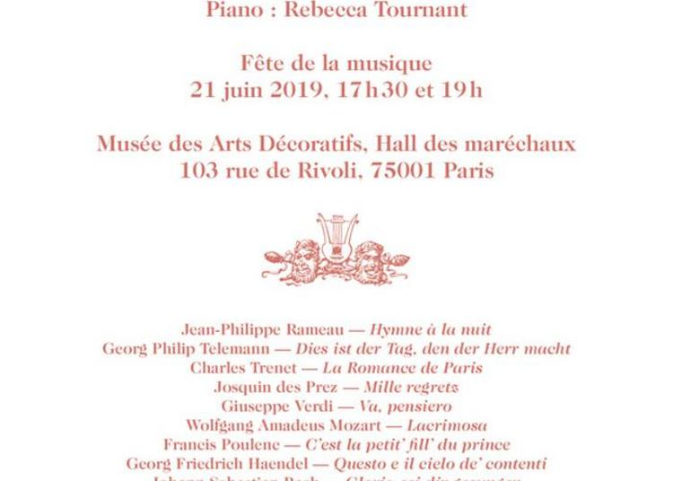 Choeur Des Arts Décoratifs à Paris 1er