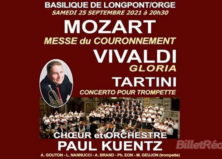 Choeur Et Orchestre : Paul Kuentz à Longpont sur Orge