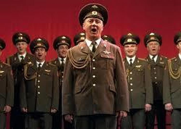 Choeurs Armee Russe Etoile Rouge à Arras